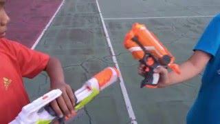 Nerf War เด็กไทย ดวลปืนแบบคาวบอย!