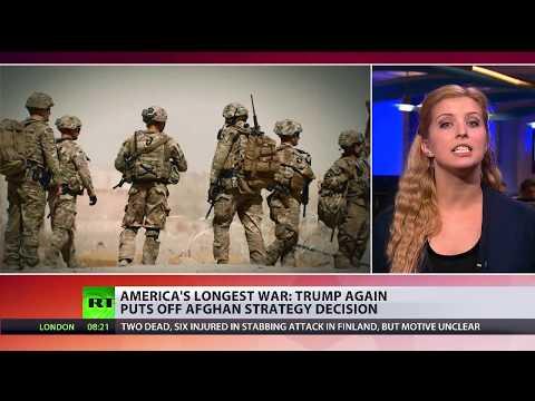 Afghan Impasse: Trump again puts off strategy decision on longest US war