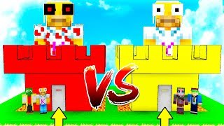 KIRON CASTLE VS KIRON.EXE! 🏰😱 MINECRAFT BATTLE OF CASTLES