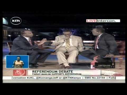 Jeff Koinange Live with Aden Duale and Farah Maalim on ODM Politics