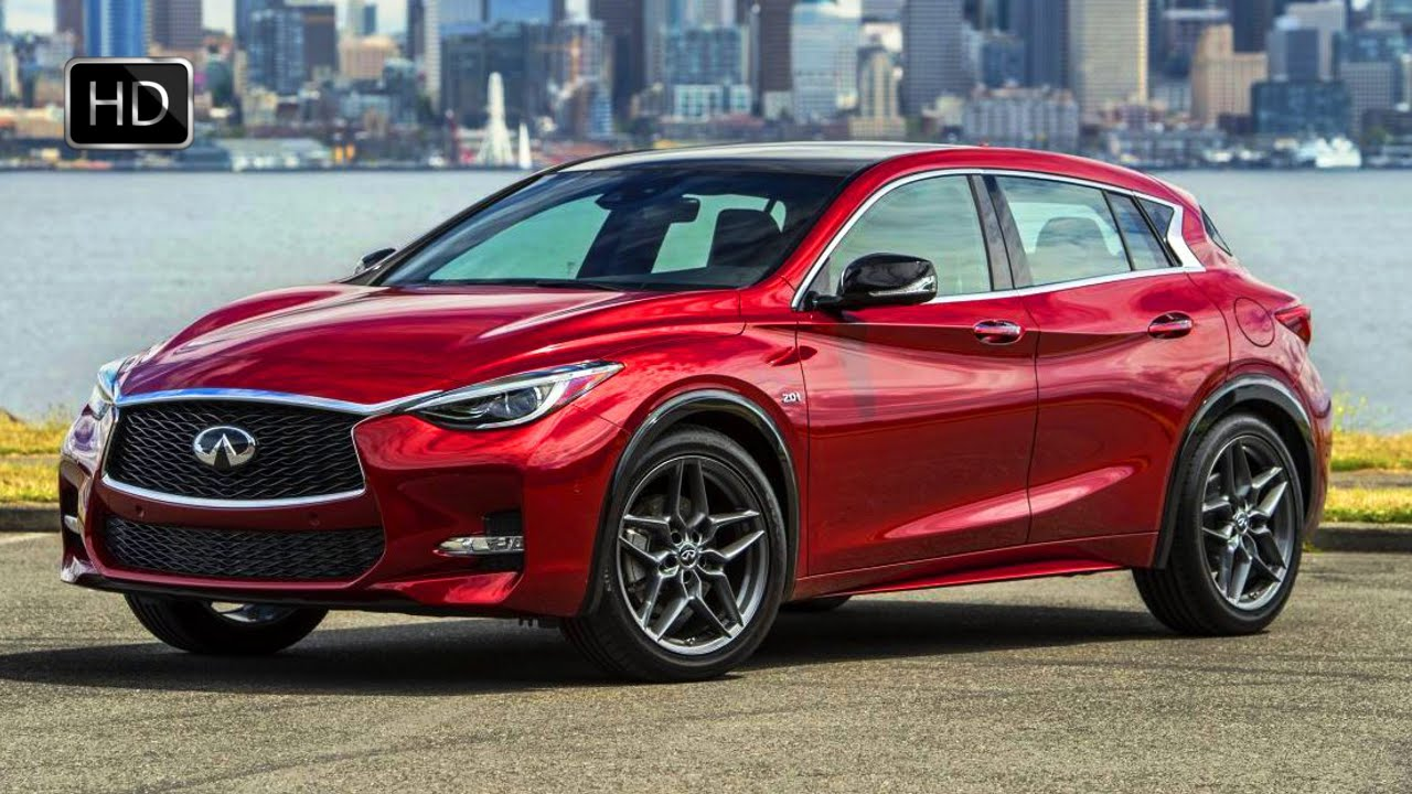 2017 infiniti qx30 red luxury sport crossover exterior interior design road drive hd youtube. Black Bedroom Furniture Sets. Home Design Ideas