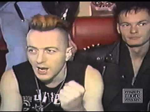 The Clash - Toronto Bus Interview April 1984