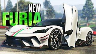 GTA 5 Online - NEW Grotti Furia Customization! (Diamond Casino Heist)