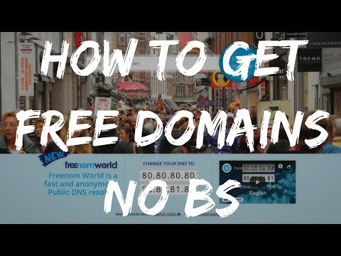 HOW TO GET FREE DOMAIN NAMES (NO BS) 💯