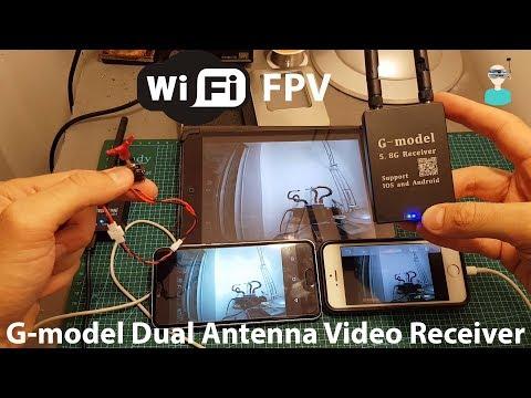 Фото WIfi FPV - G-model Dual Antenna Video OTG 5.8 Receiver