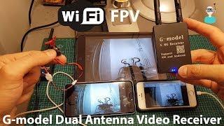 WIfi FPV - G-model Dual Antenna Video OTG 5.8 Receiver