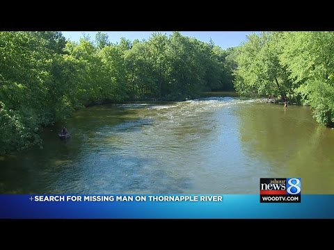 Crews in Kent Co  searching for man who fell into Thornapple