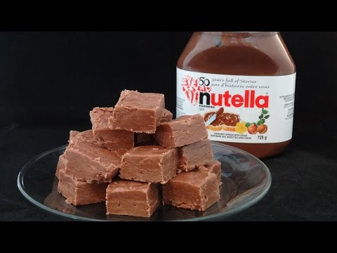 Nutella Fudge -with yoyomax12