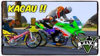 RX KING VS SATRIA FU DRAG ! || GTA 5 MOD BALAP LIAR