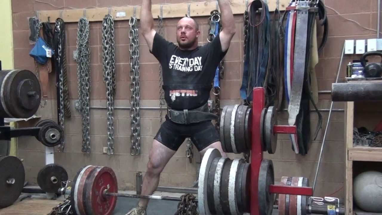 Powerlifting training monster garage gym youtube