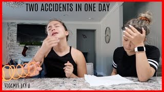 "TWO ACCIDENTS IN ONE DAY "" TOTAL DISASTER "" VLOGMAS DAY 8"