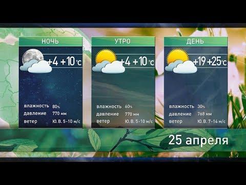 Прогноз погоды на 25 апреля. Солнечно и жарко