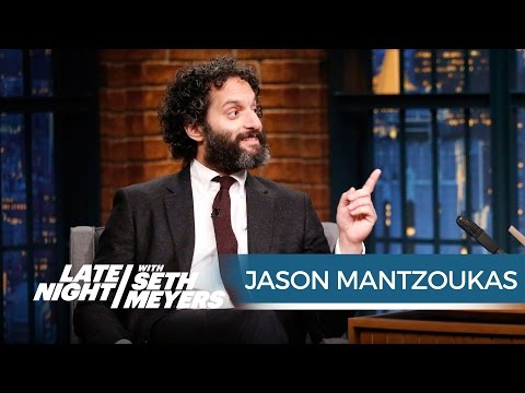 Jason Mantzoukas Has Played a Lot of Scumbags - Late Night with ...