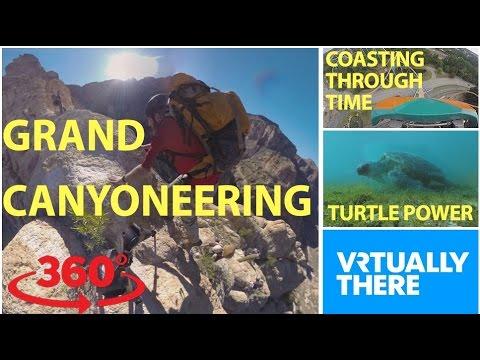 Go VR canyoneering in the Arizona desert,...