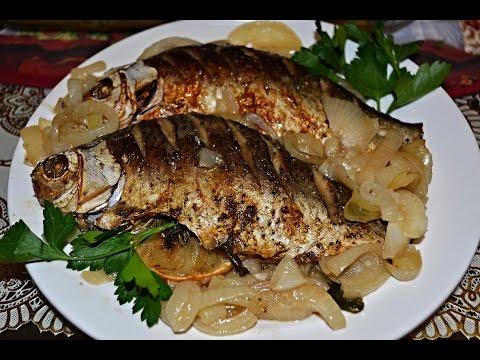 Рыба фаршированная, В духовке, рецепты с фото на