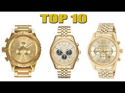 Top 10 Best Gold Watches for Men 2020