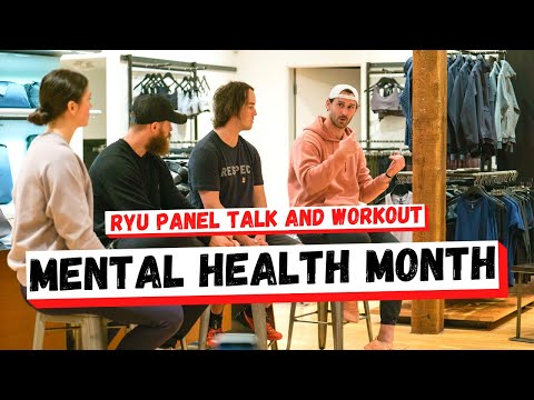Mental Health Day Panel Talk With Workout 2018 [ RYU hosted event ]