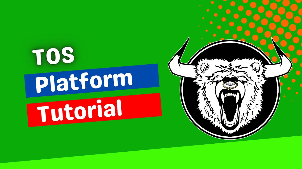 Thinkorswim tutorial