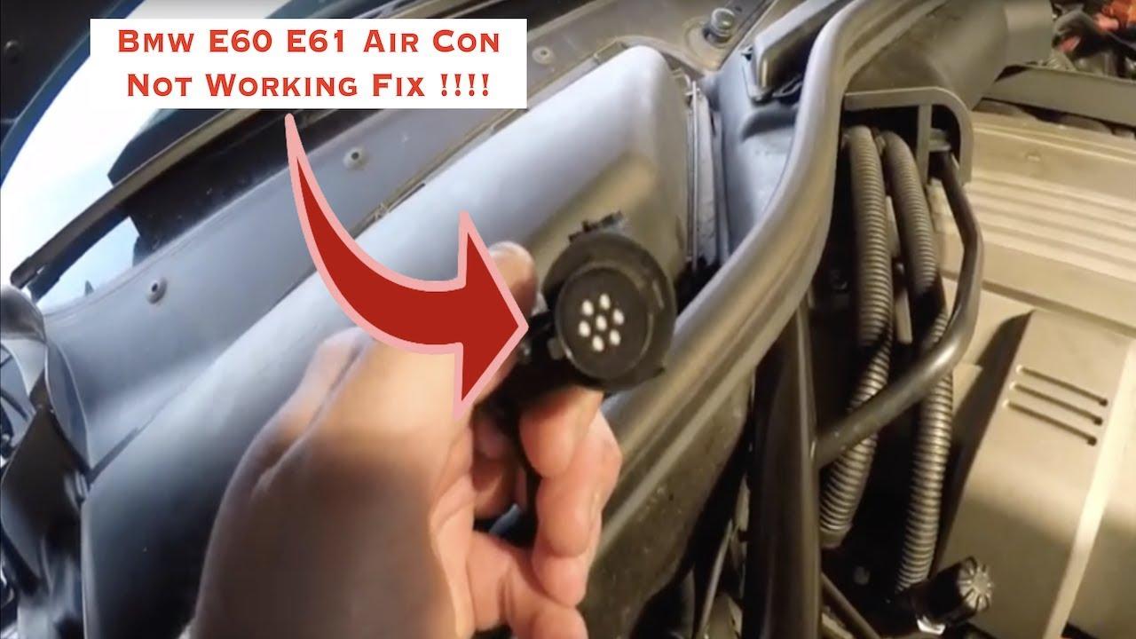 Bmw E90 E60 E61 E63 Air Con Not Working Fix Must Watch Youtube