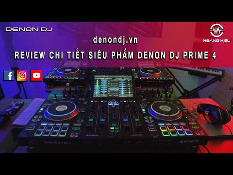 Review chi tiết bàn DJ DENON PRIME 4 - DJ SWAINZ