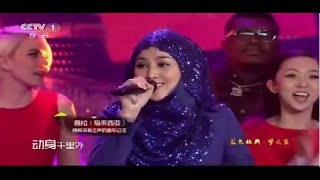 110115 Shila Amzah Opening Song for Episode 4 Meng Xiang Xing Da Dang 歌曲串烧 梦想星搭档第二季