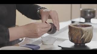 臺灣茶碗茶席-溫、置