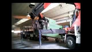 Traslado de fábrica completa metalmecánica