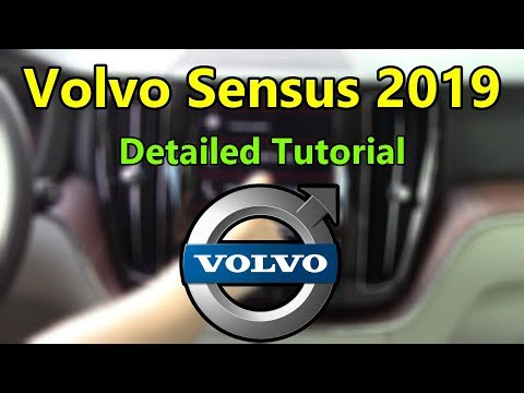 Volvo Sensus 2019 Detailed Tutorial and Review: Tech Help