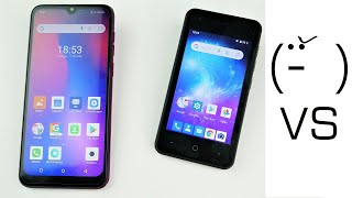 50€ Smartphone Super-Battle: ZTE Blade L130 (Kaufhaus) VS Ulefone Note 7 (China Import)