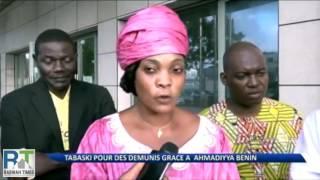 Ahmadiyya Muslim in Benin Africa celebrate Eid AlAdha
