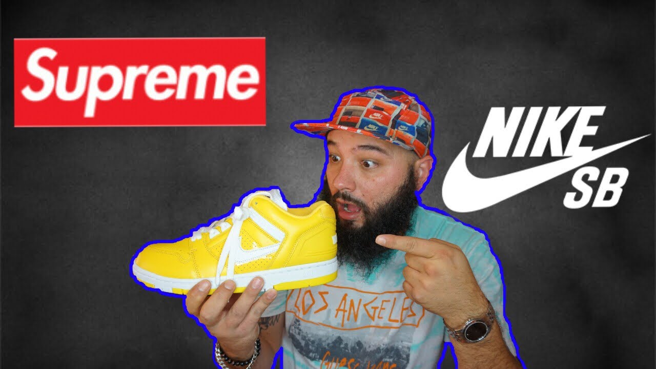 SUPREME x NIKE SB AIR FORCE 2 UNBOXING AND REVIEW!!! PLUS MORE PICKUPS FROM  SUPREME WEEK 3!!!