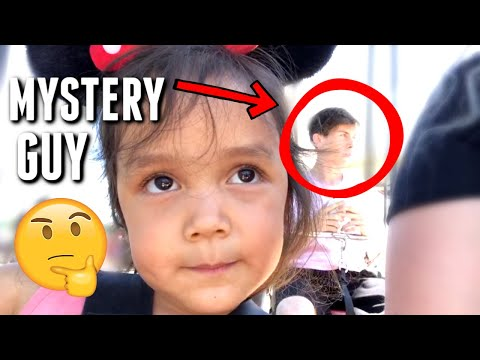 Who is this Mysterious Man at DisneyLand? - itsJudyslife