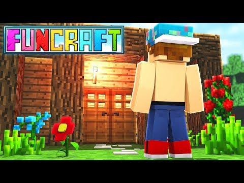 MY NEW FUNCRAFT HOME!   FunCraft #2
