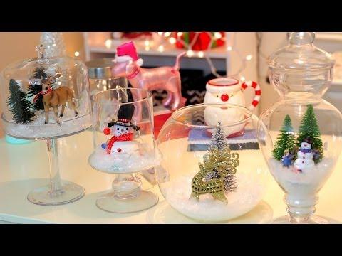 DIY Christmas/Winter Room Decor ~ Christmas Jars
