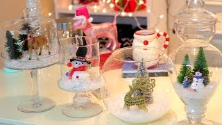 Diy Christmas Room Decor ~ Christmas Jars