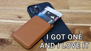 Apple iPhone 12 Leather Wallet Review
