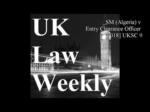 SM (Algeria) v Entry Clearance Officer [2018] UKSC 9