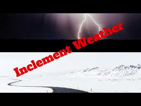 Inclement Weather Policy Minute