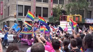 New York City Gay Pride Parade - June 28, 2015