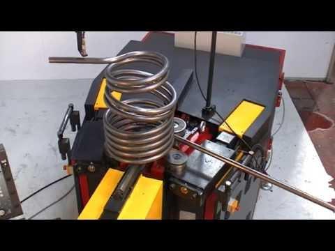 видео: Изготовление спирали на станке alpha 60 cnc-i (tauringroup)