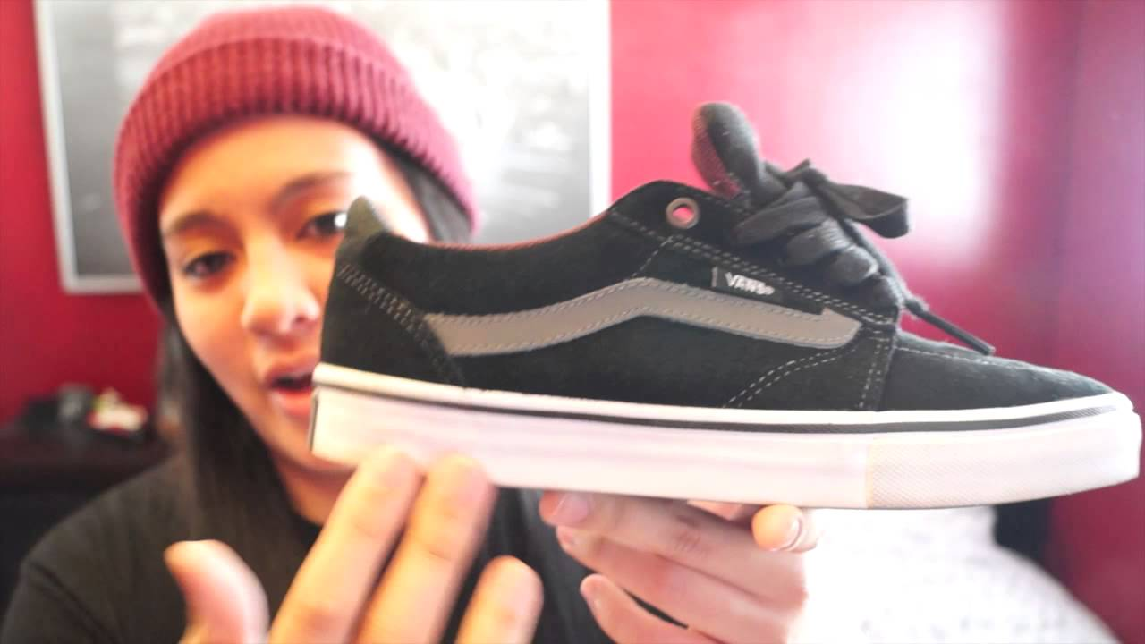 f4bcc69f9b84e8 Vans Lindero Black Charcoal Mahogany + On Feet Review - YouTube