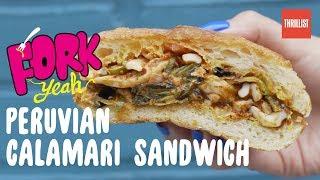 Peruvian Spicy Calamari Sandwich || Fork Yeah: Llamita