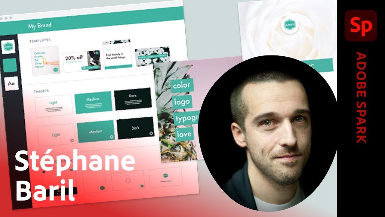 Ask A Pro | Communication perso sur Adobe Spark avec Stéphane Baril | Adobe France