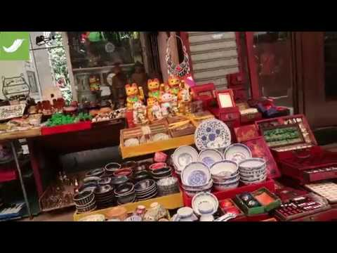 Weekend Walk Around #3 | Man Mo Temple and Antiques Street