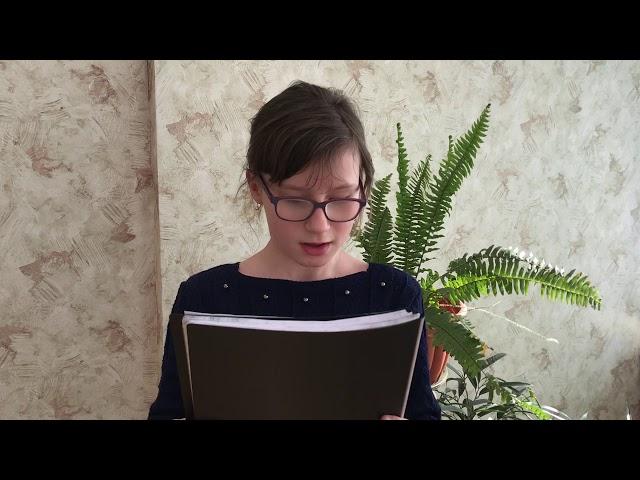 Изображение предпросмотра прочтения – ВикторияГайдукова читает произведение «Мне нравится, что Вы больны не мной...» М.И.Цветаевой
