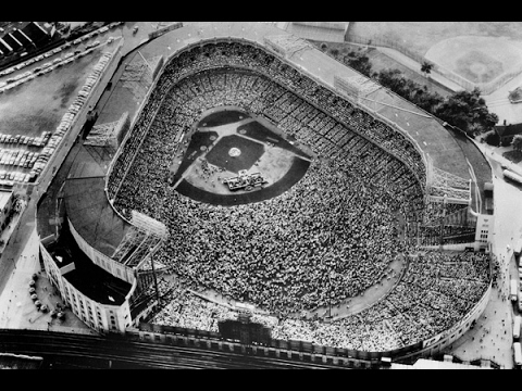 Billy Graham - Yankee Stadium  1957 - entire service (Part1/2)