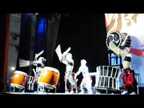 ASKA Japanese Drum Troupe - Pushkin city, 02.05.2014