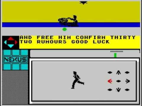 N.E.X.U.S. (Nexus Productions, 1986, ZX Spectrum)