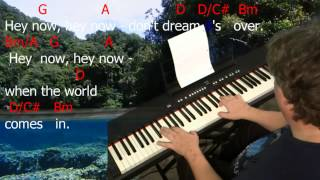 """Video Learn to Play """"Don't Dream It's Over"""". Key = D Major. download MP3, 3GP, MP4, WEBM, AVI, FLV November 2018"""