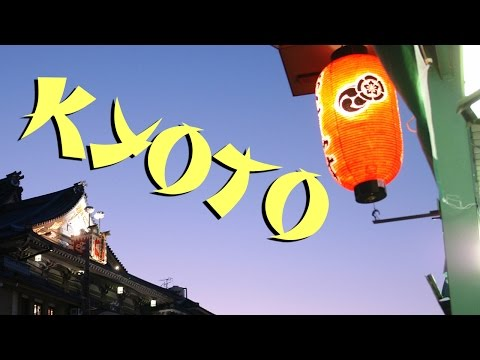 Gion  & downtown Kyoto, Japan travel video